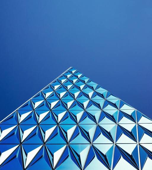 glass pyramid - Home